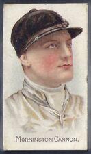 COHEN WEENEN-CRICKET FOOTBALL JOCKEYS 1900- HORSE RACING - MORNINGTON CANNON