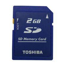 Toshiba 2 GO Sécurité Digitale carte mémoire SD Standard Classe 4 SD-M02G Camera