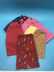 VINTAGE BARBIE Lot of 7 SKIRTS As Is