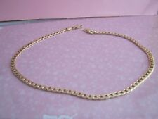 CURB CHAIN GOLD COLOUR  MIXED METAL  SIZE 18 Inch