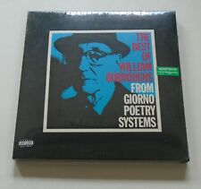 WILLIAM BURROUGHS Best Of... From Giorno Poetry Systems US 4-CD box set SEALED