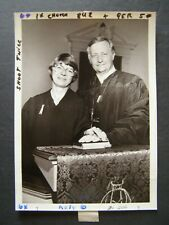Glossy Press Photo 1981 Mrs Joanne Sleeper Joins her husband James as Co Pastor