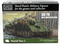 Plastic Soldier Company WW2V15036 SU-76 Self-Propelled Gun (15mm) WWII Soviet