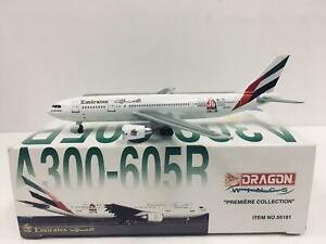 DRAGON WINGS 1:400 Emirates AIRBUS A300-605B A6-KE 55181 Dubai Shopping Festival