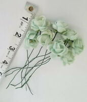 Vintage Millinery Green Roses Bundle Doll Hat Shabby A10