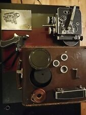 Bolex 16mm movie camera with accessories and lens
