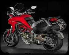 Ducati Multistrada 1200S Dvt 15 4 A4 Photo Print Motorbike Vintage Aged