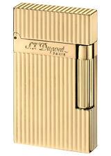 S.T. Dupont Ligne 2 Lighter, Gold Plated Lines Finish (16827)