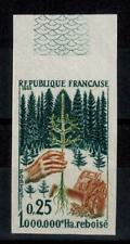 "(b29) timbre France n° 1460a neuf** année 1965 ""non dentelé"""