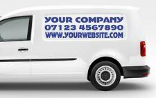 Custom Company Website Signs Graphics Vinyl Decal Stickers Shop Car Van Wall