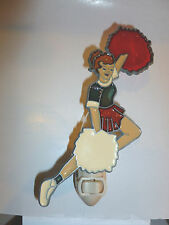 "Stain Glass Style - "" Cheerleader"" Night Light"
