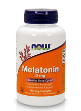 Melaton 5 mg 180veg kaps NOW FOODS