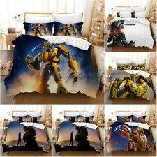 Transformers Quilt Cover Bedding Set 3PCS Duvet Cover Pillowcase Comforter Cover