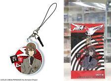 Persona 5 Acrylic Earphone Jack Accessory Ver.2 Goro Akechi Crow Licensed New