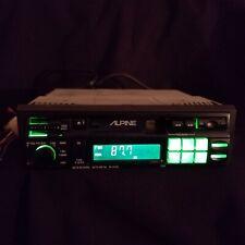 Alpine 7189 Cassette Player Car Stereo Receiver Deck Works