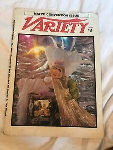 Muppets miss piggy - Original Variety Newspaper Insert