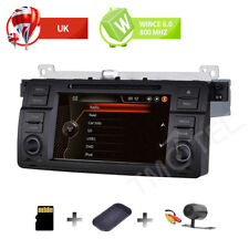 Wince 6.0 Car Stereo Sat Nav BMW E46 3er M3 Rover75 MG ZT CANBUS DAB+ Wifi OBD