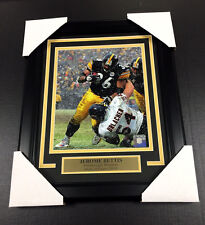 JEROME BETTIS SNOW GAME HOF PITTSBURGH STEELERS 8X10 UNSIGNED Photo Framed
