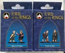 Mithril Miniatures Lord of the Rings: 32mm Limited: Merry&Pippin and Frodo&Sam