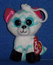TY BEANIE BOOS - PIPER the FOX KEY CLIP - CLAIRE'S EXCLUSIVE w/ TAG - SEE PICS