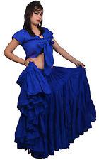 ATS Belly Dance Tribal Fusion Raks Baladi Cotton Skirt 25 Yard NN
