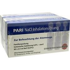 PARI NaCl Inhalationslösung Ampullen 120X2.5 ml PZN 3450382