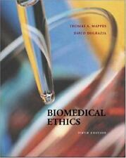 Biomedical Ethics, Mappes & DeGrazia (2000, Paperback, Fifth Edition) Like NEW
