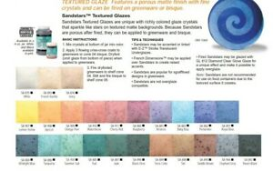 Duncan RARE Sandstar Glazes Variety of Colors 4 oz. Bottle