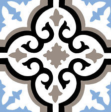 1x Sticker autocollant vinyle mural Adhésif décoratif carreau de ciment Mosaique