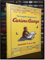 The Complete Adventures of Curious George New Sealed Leather Bound Gift Hardback
