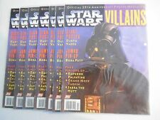 1X STAR WARS VILLAINS #2 Vintage Official 20th Anniversary Poster Magazine FN/NM