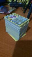 Lotto carte pokemon destino splendente, sole e luna, spada e scudo