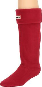 Hunter Women's 240479 Shoes Boot Socks Fabric Closed Toe Knee High Cold Size M
