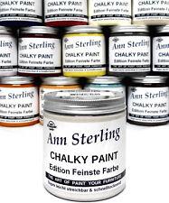 Kreidefarbe Shabby Chic Vintage Farbe Möbelfarbe 2,4€100ml Antik Möbel Lack Weiß