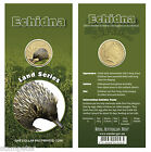 2008 Land Series - Echidna, Uncirculated $1 Pad Printed Coin