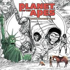 Planet Of The Apes: Adult Coloring Book Science Fiction Sc