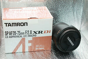 Tamron SP AF 28-75mm F/2.8 XR Di LD Aspherical [IF] Macro Lens for Canon