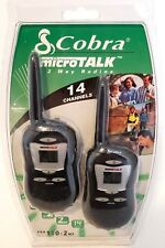 Cobra microTALK FRS 110-2 Two Way Radio 14 CHANNEL 2 MILE RANGE New Sealed