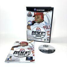 EA Sports MVP Baseball 2004 (Nintendo GameCube, 2004) Complete - SHIPS FREE!