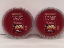 Yankee Candle Scenterpiece Easy Melt Cup in Apple Pumpkin - Set Of 2!