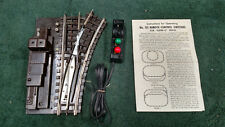 LIONEL 112R SUPER O  RIGHT HAND SWITCH RAIL PINS & BUS BAR CLEANED TESTED