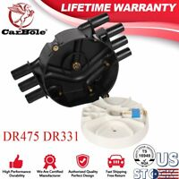 Black Distributor Cap and Rotor For Chevrolet & GMC Trucks V6 4.3L Vortec DR475
