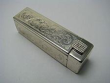 STERLING SILVER LIPSTICK w/ MIRROR LIPSTICK DISPENSER 925 Silver ca1950s No Mono