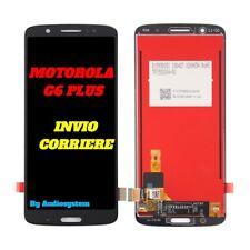DISPLAY LCD+ TOUCH SCREEN MOTOROLA MOTO G6 PLUS XT1926 XT1927 NERO VETRO LENOVO
