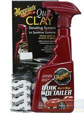 Meguiar´S Quik Clay Kit Detailing Sistema Con Pasta de limpieza