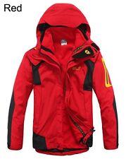 3in1 Hombre Impermeable Resistente Al Viento Parkas Alpinismo Chaqueta De Esquí