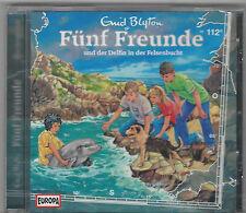 Fünf Freunde CD Folge 112 und der Delfin in der Felsenbucht - EUROPA NEU + OVP