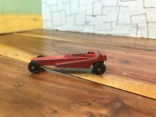 Vintage Tootsietoy Red Wedge Dragster Diecast Toy Car Tootsie Toy