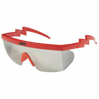 Neff Men's Brodie Single Lens Shades Sunglasses Red Eyewear Beach Summer