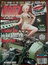 Ol Skool Rodz #40 July 2010 - NEW - Kustom Hot Rod Pin Up Rockabilly Dragstrip